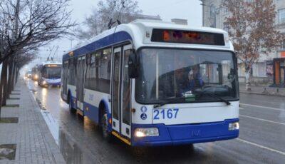 Troleibuzele 2, 3, 10 și 24 revin la itinerarul obișnuit de circulație