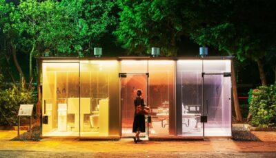 De ce WC-urile publice din Japonia sunt transparente?