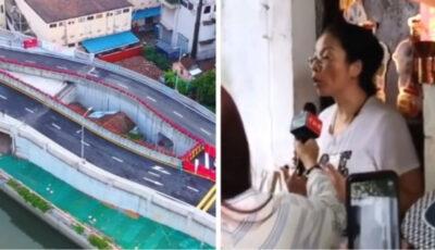 În China a fost construită o autostradă în jurul unei case, deoarece proprietara a refuzat să se mute