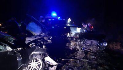Accident teribil în raionul Strășeni. Un mort și 7 răniți