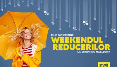 Shopping MallDova îți aduce 3 zile de oferte speciale