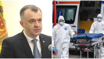 """Ion Chicu: ,,Situația pandemică în Moldova rămâne a fi foarte complicată și ea se agravează"""""""