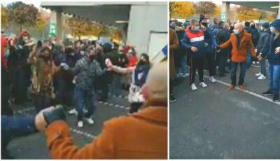 Video! Moment emoționant. În Germania, diaspora s-a prins într-o horă