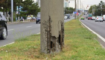 De astăzi, încep lucrările de modernizare a iluminatului public pe strada Calea Orheiului