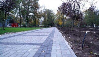 Parcul Central din Cahul, renovat graţie suportului Uniunii Europene