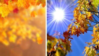 Luna octombrie, în Moldova, a fost cea mai caldă din ultimii peste 100 de ani
