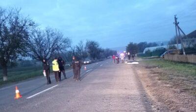 Tânăr din Drochia, lovit de un șofer și lăsat să moară pe marginea drumului