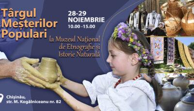 Muzeul Național de Etnografie și Istorie Naturală vă invită la Expoziția Națională a Meșterilor Olari și Ceramiști