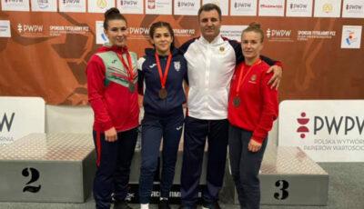 Reprezentantele Moldovei au cucerit 3 medalii la Poland Open