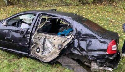 Autocarul cursei Moldova-Cehia, implicat într-un accident