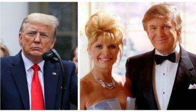 Fosta soție a lui Donald Trump, Ivana, îl acuză pe președinte că nu știe să piardă
