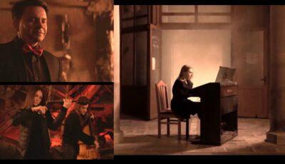 Videoclip plin de emoție, filmat de artiști pe ruinele edificiului Filarmonicii Naționale!