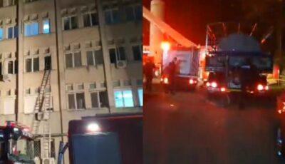 Grozăvie. Cel puțin 7 pacienți Covid au murit în urma unui incendiu izbucnit în spital