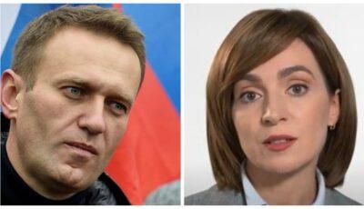"""Aleksei Navalnîi: ,,Felicitări Maiei Sandu! Moldova are totul pentru o dezvoltare de succes"""""""