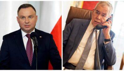 Președinții Austriei și Poloniei au felicitat-o pe Maia Sandu