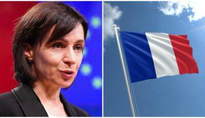Republica franceză, mesaj de felicitare pentru Maia Sandu: Vom ajuta Republica Moldova