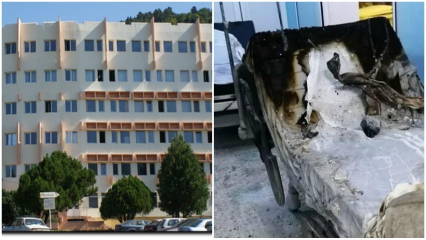 Foto: Familia unui pacient care a murit în incendiul din spitalul Piatra Neamț cere despăgubiri de 1 milion de euro