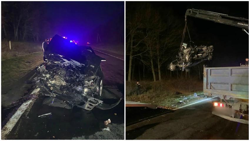 Foto: Noi detalii despre accidentul de pe traseul Chișinău-Leușeni. Cine sunt victimele?