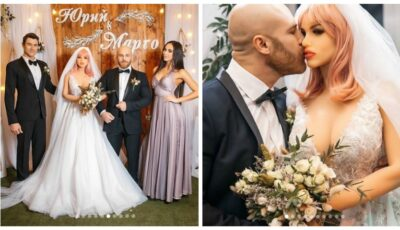"""Un culturist kazah s-a căsătorit cu o păpușă sexuală: """"Soție fericită, viață fericită"""""""