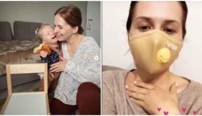 """Încă o bloggeriță s-a infectat cu Covid-19. Ludmila Adamciuc a povestit cum se simte: ,,Cel mai mult îmi fac griji pentru…"""""""