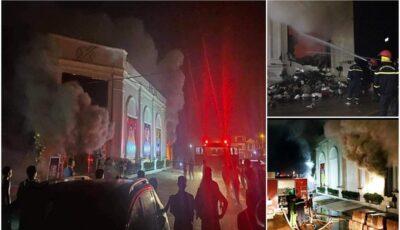 Club în flăcări de la artificii, în Vietnam. Trei tinere au murit