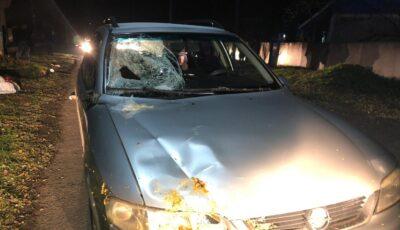 Un șofer beat criță a tamponat mortal o femeie