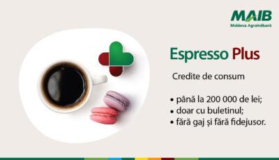 Mai bun decât Espresso poate fi doar Espresso PLUS