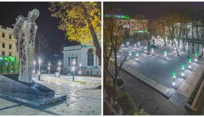 """Cum arată scuarul ,,Mihai Eminescu"""" din Capitală după renovare. Foto"""