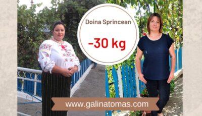 """Povestea Doiniței, mămică a trei copii, care a slăbit 30 kg cu ajutorul proiectului ,,Galina Tomaș îți cumpără kilogramele"""""""