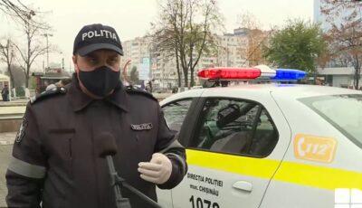 """Controale în Capitală. Cetățenii, avertizați să poarte masca. Poliția: ,,Vom aplica amenzi"""""""