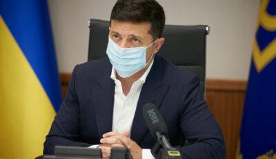 Președintele Ucrainei, Vladimir Zelenski, a fost testat pozitiv la Covid-19