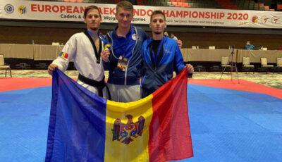 Medalie de bronz pentru Moldova la Europenele de taekwondo