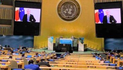Ion Chicu a participat la Sesiunea specială a Adunării Generale ONU dedicată Covid-19