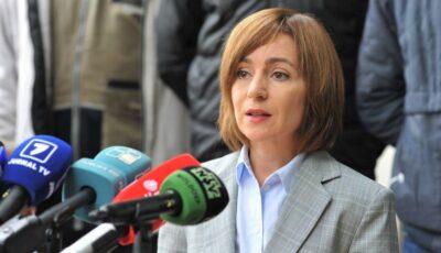 Președintele ales, Maia Sandu, îndeamnă oamenii să iasă mâine la protest