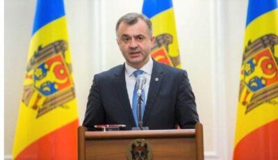 Premierul Ion Chicu și-a dat demisia