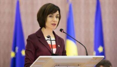 Maia Sandu a anunțat candidatura pentru funcția de prim-ministru interimar