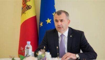Premierul Ion Chicu spune că se simte bine, după ce ieri a fost confirmat pozitiv pentru noul Coronavirus