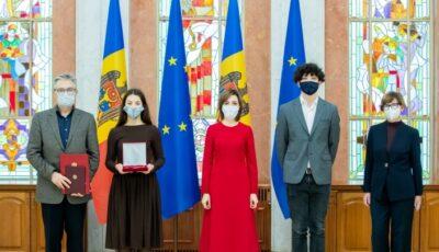 Maia Sandu i-a conferit Ordinul Republicii post-mortem actorului Vladimir Ciobanu