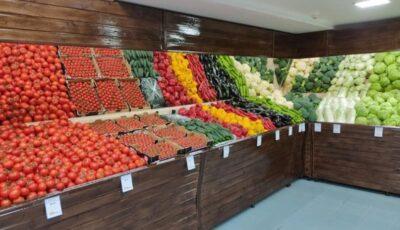 La Piața Centrală a fost inaugurată o hală modernă de fructe şi legume