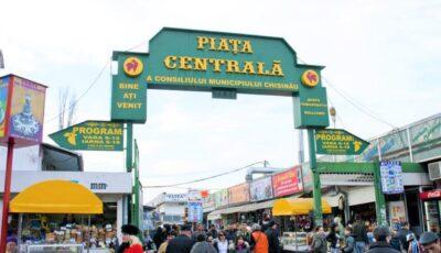 Piața Centrală va activa conform unui program special de sărbători