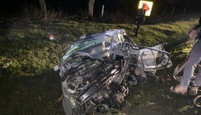 Detalii despre accidentul teribil de la Sângerei. O șoferiță de 23 de ani, care conducea regulamentar, a murit
