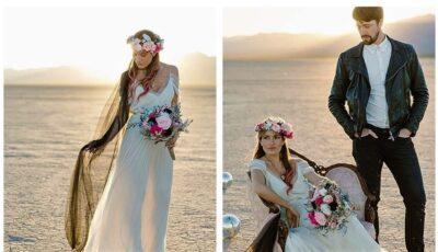 Povestea femeii care s-a căsătorit singură și a plătit un bărbat ca să apară cu ea în poze