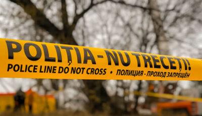 Florești: Cadavrul ars al unei tinere a fost găsit pe un câmp