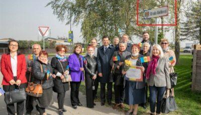 """""""Strada Moldovei"""", inaugurată în centrul oraşului Vilnius din Lituania"""