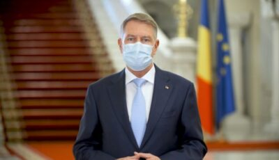 Mesajul Preşedintelui Klaus Iohannis de Anul Nou: Reîntoarcerea la normalitate este tot mai aproape