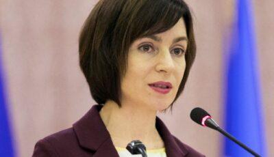 Maia Sandu spune clar: Are nevoie de ajutorul cetățenilor pentru a face ordine și a scoate țara din corupție