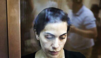 Basarabeanca Karina Ţurcan, condamnată în Rusia la 15 ani de închisoare pentru spionaj în favoarea Republicii Moldova
