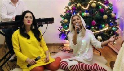 Cu voci divine, interpretele Carolina Gorun și Ala Zasmenco au lansat o piesă de Crăciun