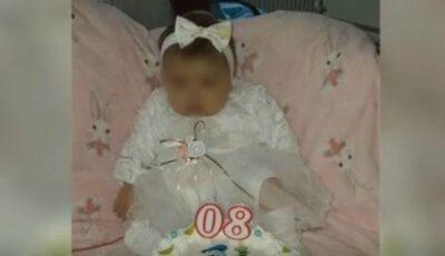 O fetiță de doar 8 luni are nevoie de transplant de ficat