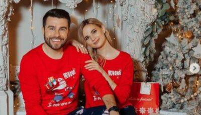 Jurnalistul Dorin Galben și iubita lui își sărbătoresc dragostea printr-o ședință foto de iarnă